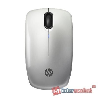Мышь HP Z3200, Wireless Optical, 1600dpi, Silver, USB, 2xAA
