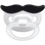 Соска-пустышка Happy Baby Baby силиконовая ортодонтическая Усики